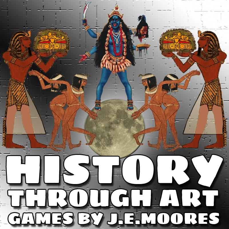 history through art video games