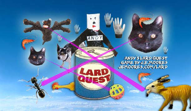 Andy's Lard Quest