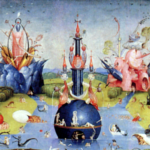 Garden of Delights indie mobile game by J.E.Moores based on the painting by Hieronymus Bosch