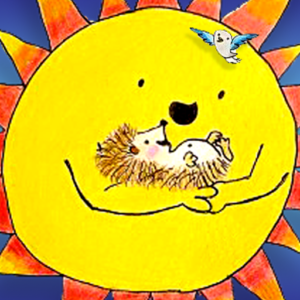 Hedgehog Balloon Race