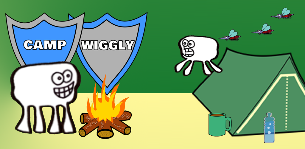 Camp Wiggly mobile game
